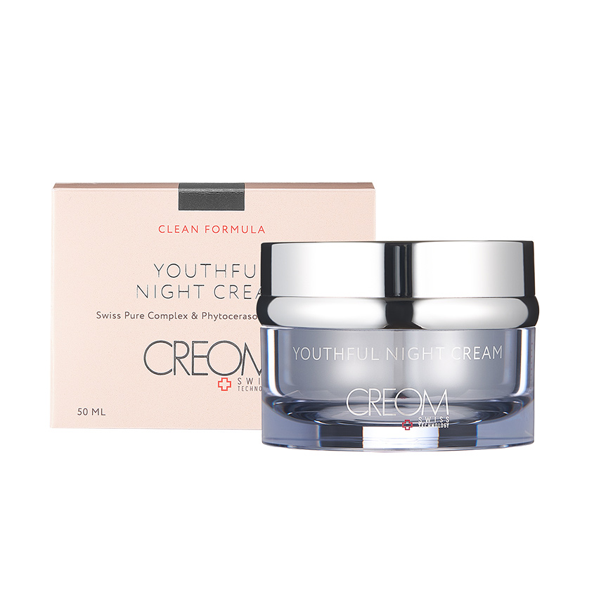 CREOM Крем ночной омолаживающий Youthful Night Cream