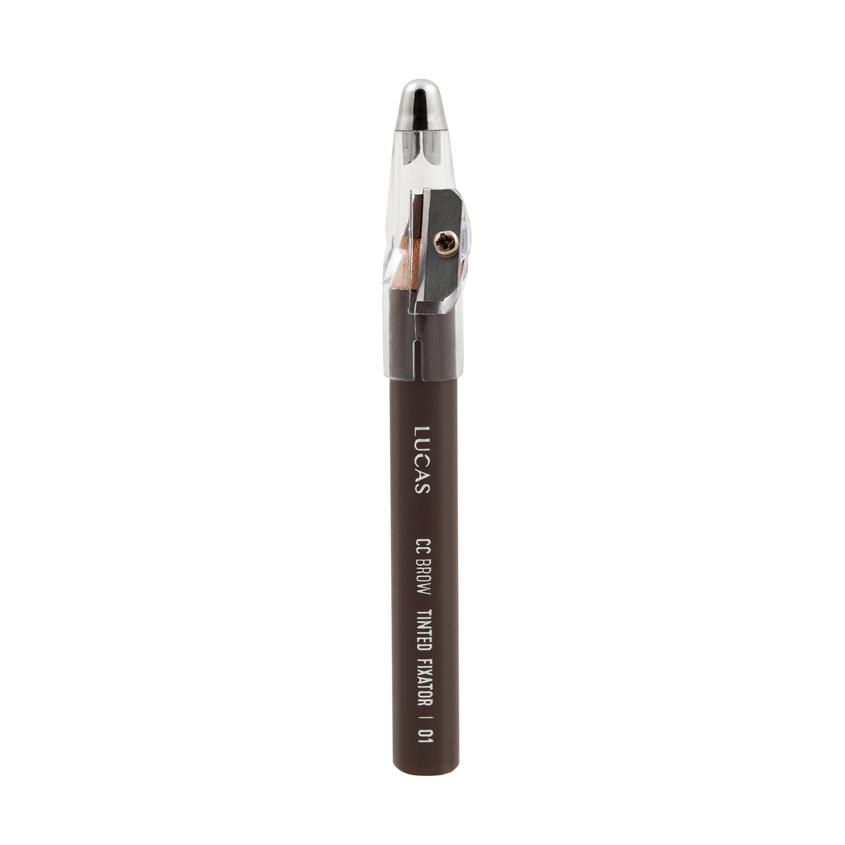 LUCAS Восковый карандаш для бровей Tinted Wax Fixator CC Brow