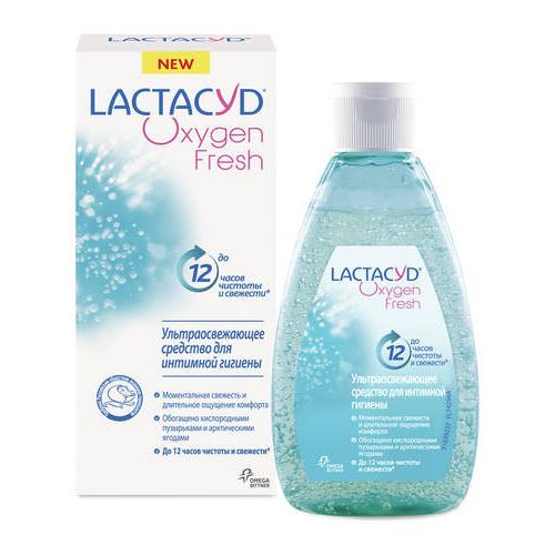 Купить LACTACYD Гель для интимной гигиены Кислородная Свежесть