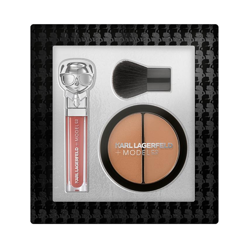 Купить KARL LAGERFELD & MODELCO Набор для макияжа губ и лица