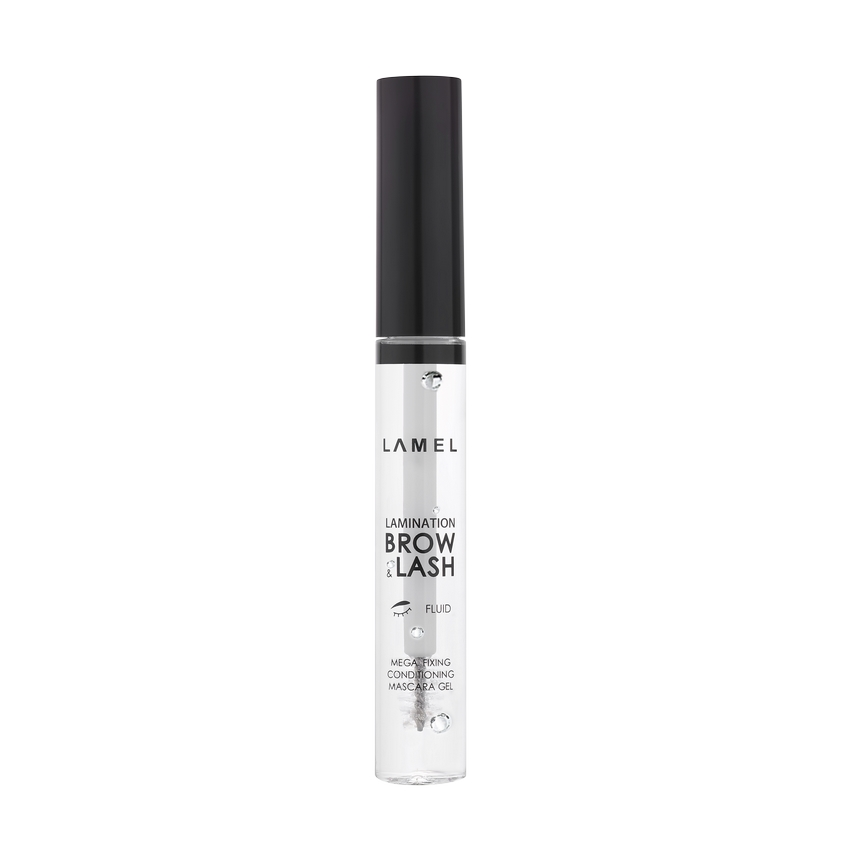 LAMEL PROFESSIONAL Гель для бровей и ресниц с эффектом ламинирования Lamination Brow&Lash Gel