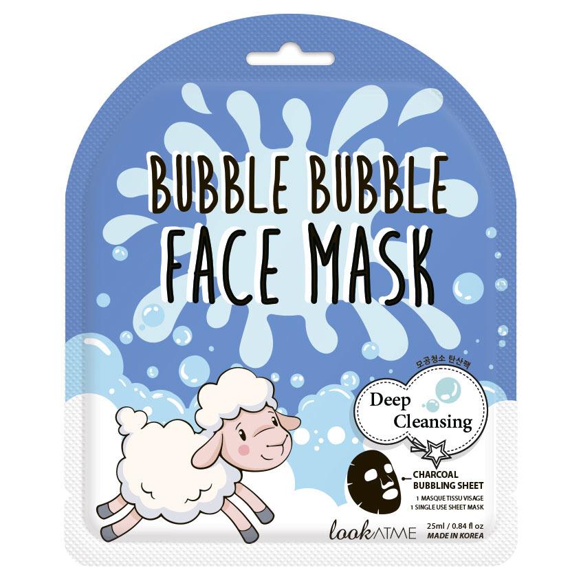 Купить LOOK AT ME Маска для лица пузырьковая очищающая