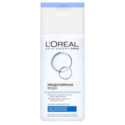 L`OREAL PARIS L`OREAL Мицеллярная вода для нормальной и смешаннной кожи 200 мл l oreal paris super liner le smoky карандаш для глаз 207 черничный сорбет