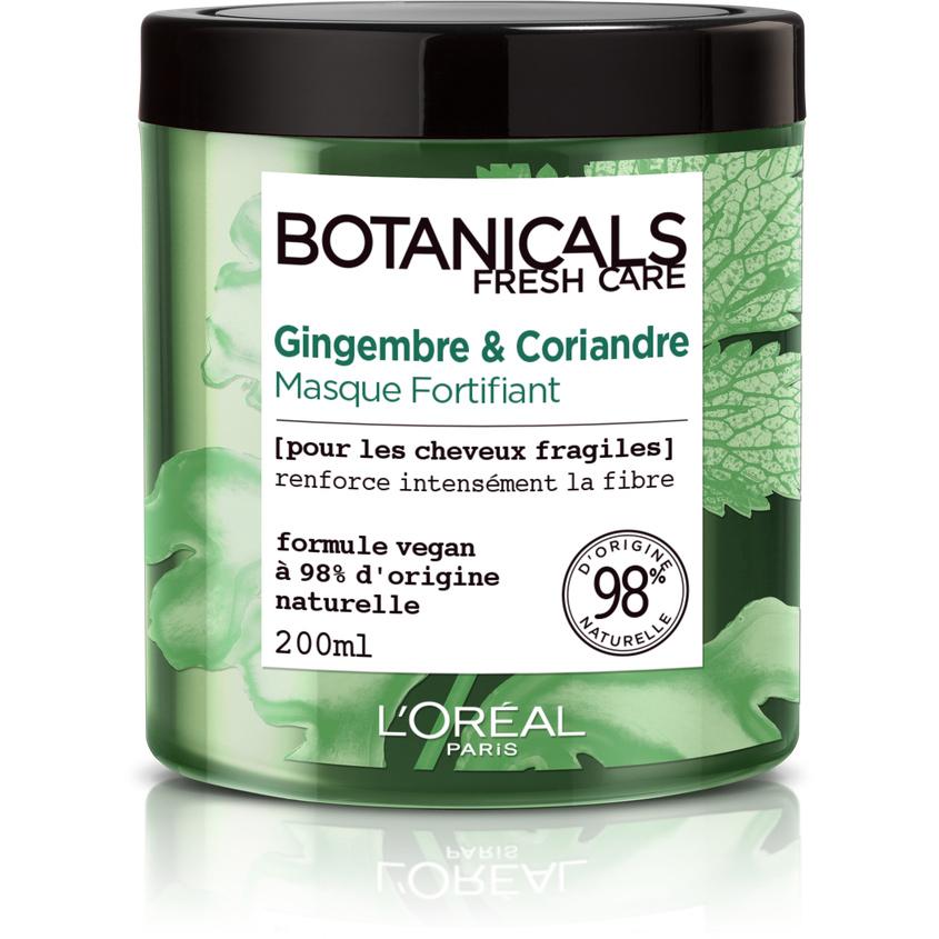 Купить L'OREAL PARIS Маска для волос Botanicals Кориандр , для ломких волос, укрепляющая, 200 мл, без парабенов, силиконов и красителей, L'ORÉAL PARIS