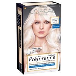 L`OREAL PARIS L`OREAL Осветлитель для волос Preference Платина 6 тонов l oreal paris l oreal тушь для ресниц объем миллиона ресниц фаталь черная 9 мл