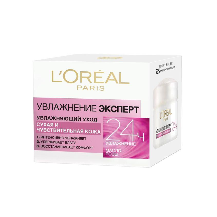 Купить L'OREAL Увлажняющий уход Увлажнение Эксперт для сухой и чувствительной кожи, L'ORÉAL PARIS