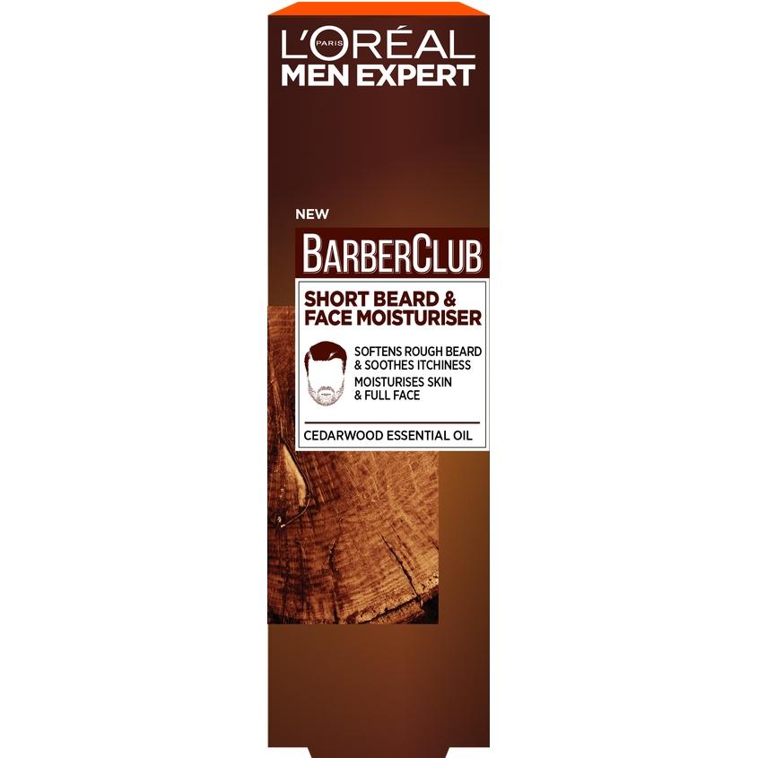 Купить L'OREAL PARIS Men Expert Barber Club Крем-гель для короткой бороды, с маслом кедрового дерева, L'ORÉAL PARIS