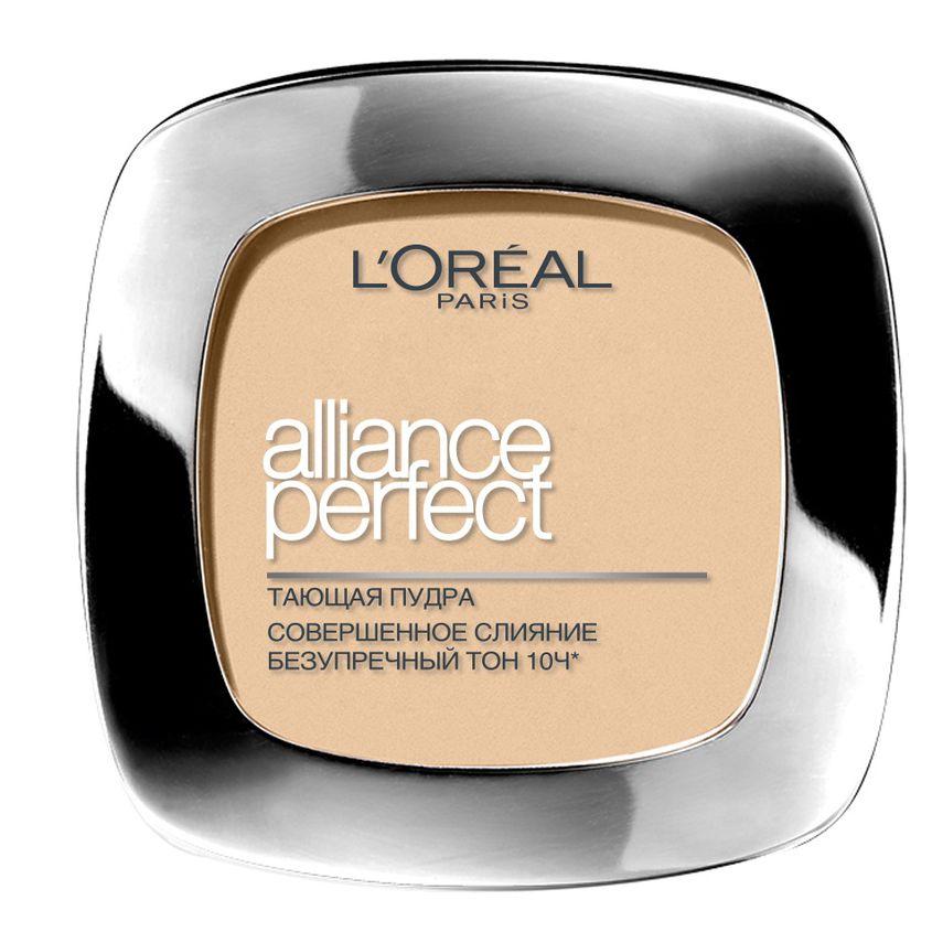 L`OREAL Пудра компактная «Alliance Perfect, Совершенное слияние», выравнивающая и увлажняющая