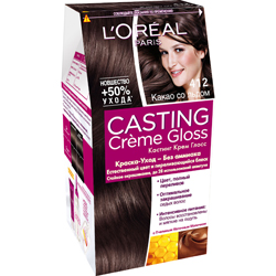 L`OREAL PARIS L`OREAL Краска для волос Casting Creme Gloss 300 Двойной эспрессо, 254 г l oreal paris l oreal тушь для ресниц объем миллиона ресниц фаталь черная 9 мл