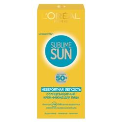 L`OREAL �������������� ������� ��� ���� Sublime Sun ����������� �������� SPF 50