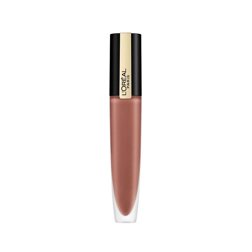 Купить L'ORÉAL PARIS Тинт для губ жидкий матовый Rouge Signature, с металлическим эффектом