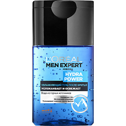L`OREAL PARIS L`OREAL Бальзам после бритья Me Hydra Power Men Expert 125 мл l oreal paris men expert hydra energetic лосьон после бритья увлажняющий men expert hydra energetic лосьон после бритья увлажняющий