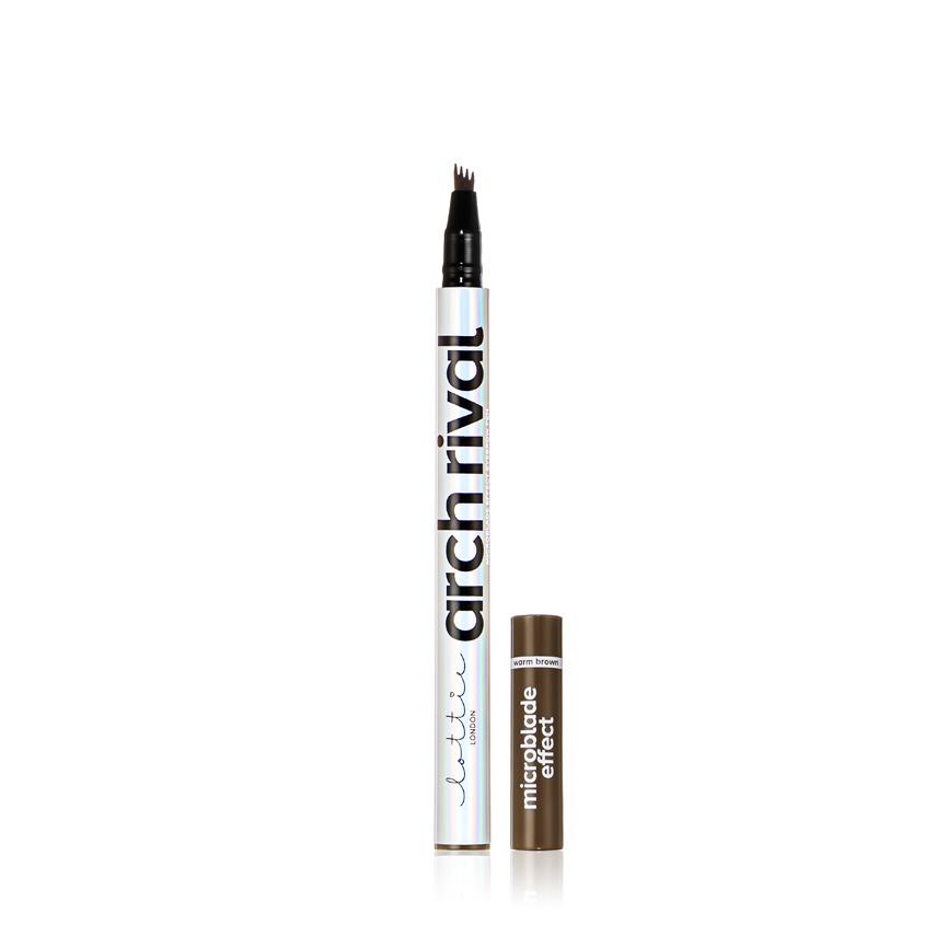 Купить LOTTIE LONDON Подводка-карандаш для бровей стойкая с эффектом микроблейдинга ARCH RIVAL