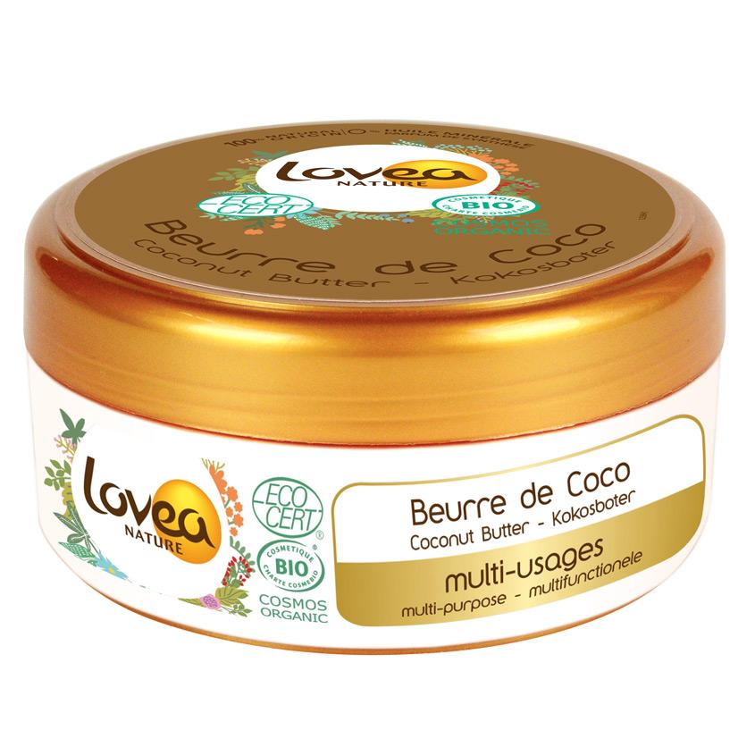 LOVEA Масло кокоса БИО  для волос и тела твердое
