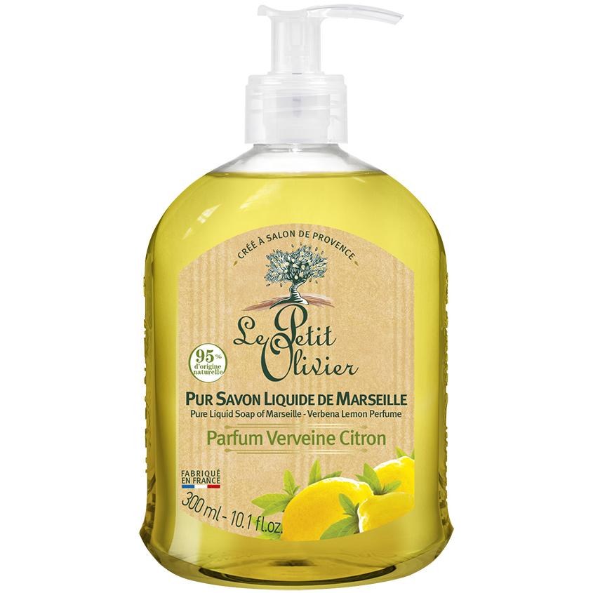 LE PETIT OLIVIER Мыло жидкое с лимоном и вербеной