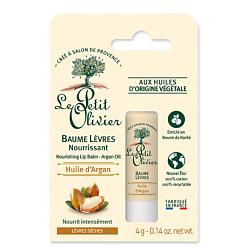 LE PETIT OLIVIER Бальзам для губ питательный c маслом Арганы 4 г бальзам крем с маслом арганы argana