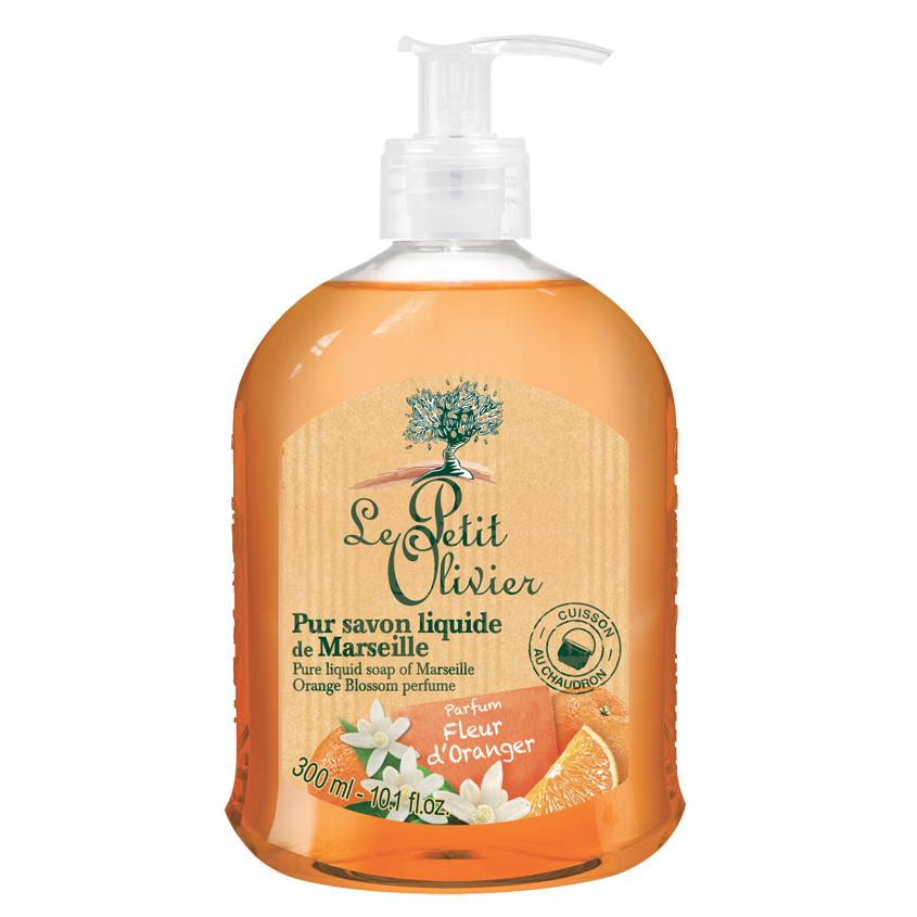 Купить LE PETIT OLIVIER Мыло жидкое марсельское Цветок апельсина