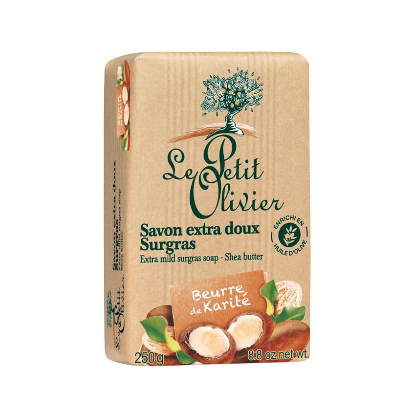 LE PETIT OLIVIER Мыло нежное питательное с маслом Карите (Ши) LE PETIT OLIVIER Мыло нежное питательное с маслом Карите (Ши)