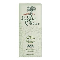 Купить LE PETIT OLIVIER Крем для лица дневной для интенсивного увлажнения кожи с маслом Оливы 50 мл