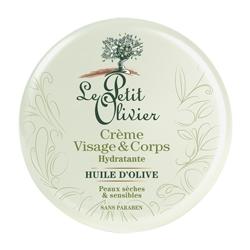 LE PETIT OLIVIER Крем для лица и тела увлажняющий с маслом Оливы 125 мл