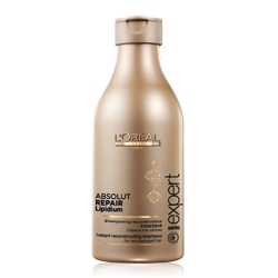 LOREAL PROFESSIONNEL Шампунь для поврежденных волос Serie Expert Absolut Lipidium 250 мл