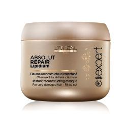 LOREAL PROFESSIONNEL Восстанавливающая маска для поврежденных волос Serie Expert Absolut Lipidium 200 мл