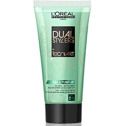 LOREAL PROFESSIONNEL Крем-гель для объема и гладкости волос Dual Stylers Liss and Pump-Up 150 мл