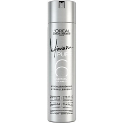 Купить L'OREAL PROFESSIONNEL Лак для укладки волос без запаха сильной фиксации INFINIUM Pure Strong 300 мл