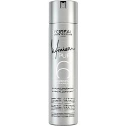 Купить L'OREAL PROFESSIONNEL Лак для укладки волос без запаха экстра-сильной фиксации INFINIUM Pure Extra Strong 300 мл