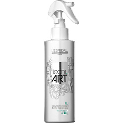 L'OREAL PROFESSIONNEL Спрей для укладки волос для объема термомоделирующий фиксирующий TECNI.ART Pli 190 мл моделирующий спрей для фена tecni art hot style constructor 150 мл