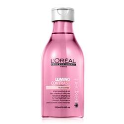 L'OREAL PROFESSIONNEL Шампунь-сияние для мелированных волос Serie Expert Lumino Contrast 250 мл