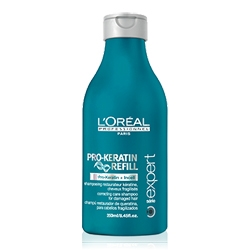 L'OREAL PROFESSIONNEL Ухаживающий шампунь для ослабленных волос Serie Expert Pro-Keratin Refill 250 мл