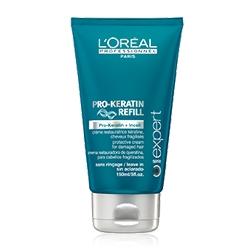 LOREAL PROFESSIONNEL Защищающий несмываемый крем для термо-укладки Serie Expert Pro-Keratin Refill 150 мл