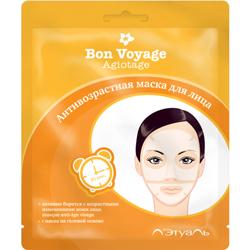 ЛЭтуаль selection ЛЭТУАЛЬ Антивозрастная маска для лица Bon Voyage Agiotage 1 шт.