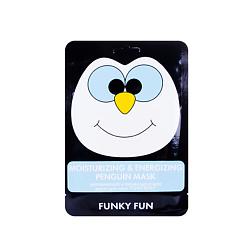 """Купить Л'ЭТУАЛЬ Увлажняющая и активизирующая маска для лица """"Пингвин"""" Funky Fun LTA018630"""