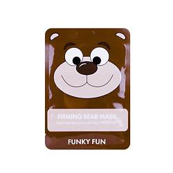 ЛЭтуаль selection ЛЭТУАЛЬ Укрепляющая маска для лица Медведь Funky Fun 1 шт.