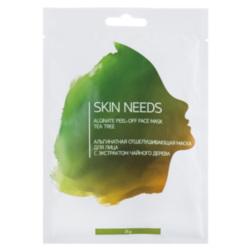 Купить Л'ЭТУАЛЬ Альгинатная отшелушивающая маска для лица с экстрактом чайного дерева SKIN NEEDS 25 г, Л'Этуаль selection