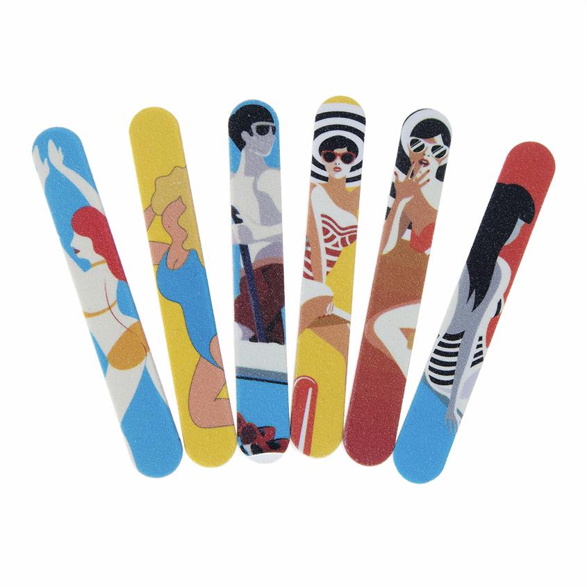 Купить MODE ZERO Набор одноразовых мини-пилок для ногтей, 6 шт.