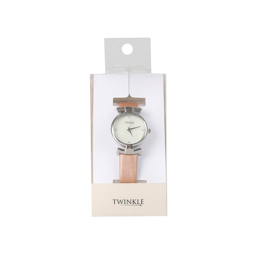 TWINKLE Наручные часы с японским механизмом, beige fashion фото