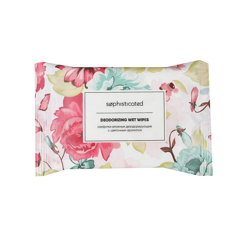 Купить SOPHISTICATED Салфетки влажные дезодорирующие с цветочным ароматом