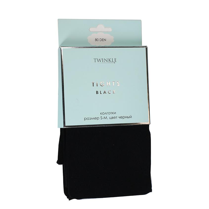 TWINKLE Колготки 80 DEN размер S-M, цвет черный