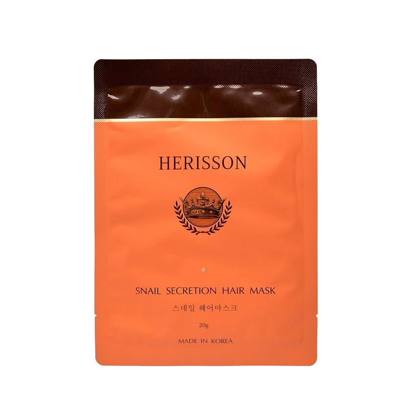 Купить HERISSON Укрепляющая маска с секретом улитки для волос