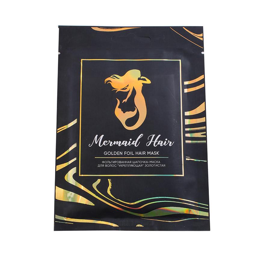 Купить Л'Этуаль MERMAID HAIR Фольгированная шапочка-маска для волос укрепляющая золотистая