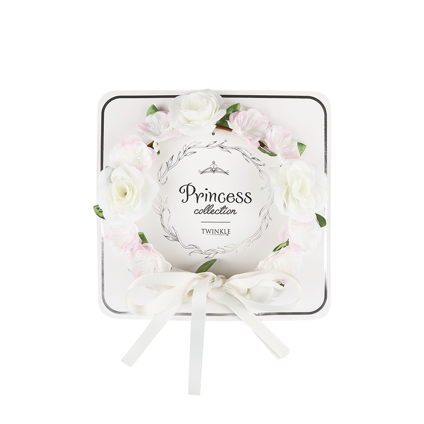 TWINKLE PRINCESS COLLECTION Ободок для волос Flowers White