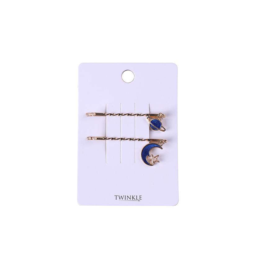 TWINKLE Заколки для волос 2 шт. Planets