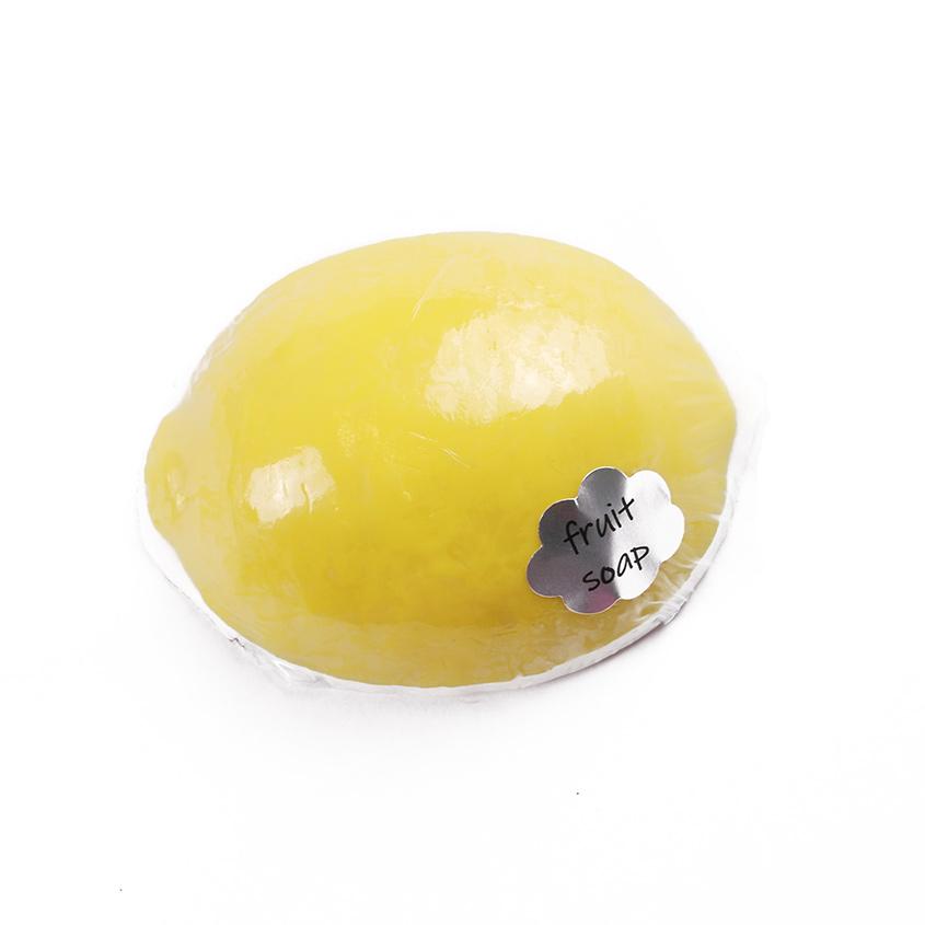 """Мыло твердое глицериновое ручной работы """"Лимон"""""""