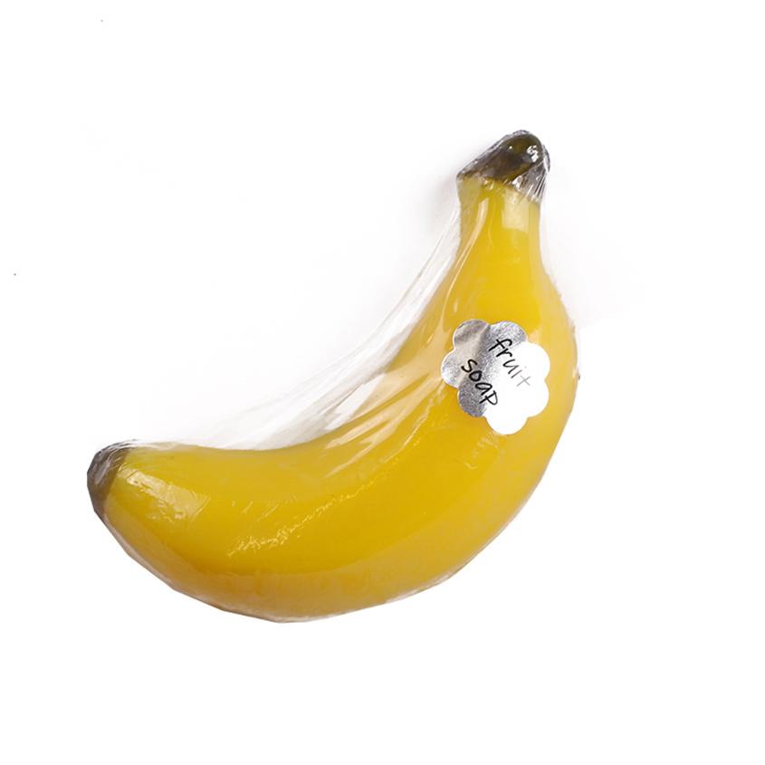 """Мыло твердое глицериновое ручной работы """"Банан"""""""
