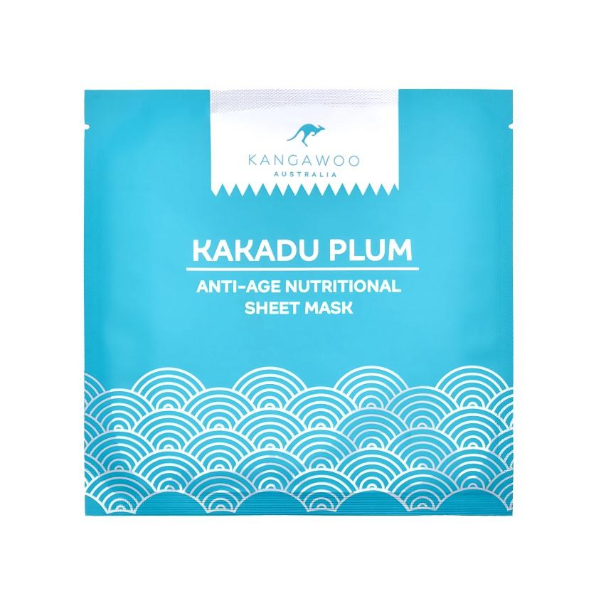 Купить KANGAWOO Тканевая антивозрастная питательная маска для лица KAKADU PLUM