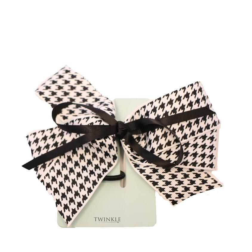 TWINKLE Резинка для волос Black&White