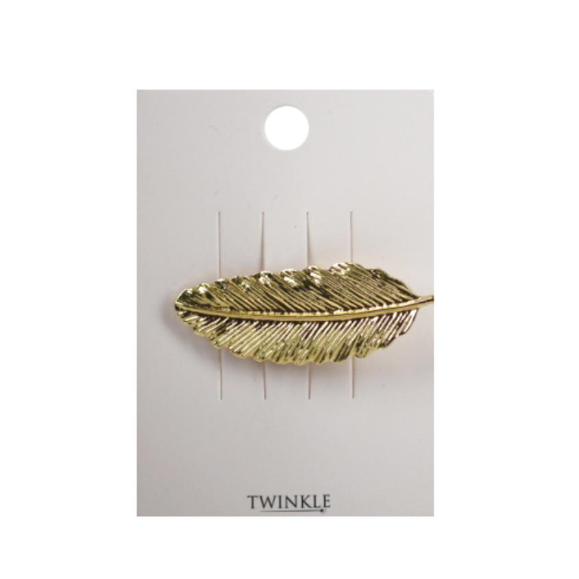 TWINKLE Заколка для волос Golden Leaf